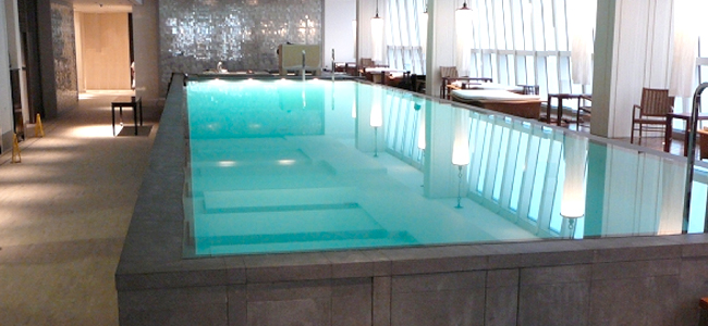 Upper Floor Swimming Pool (Anti-vibration Pool)
