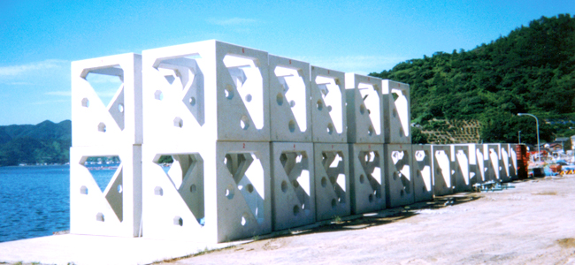 Leasing Concrete Formworks for Round Artificial Fish Reefs