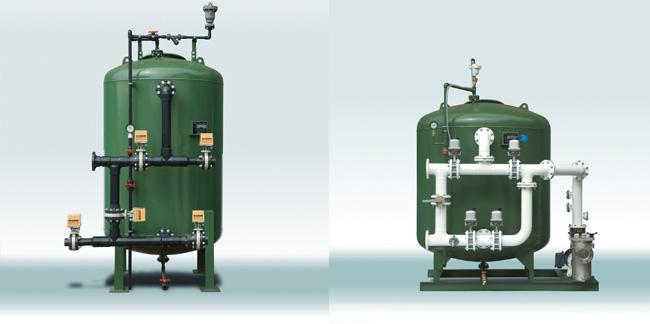 Sand filter system for Pond sand filter system